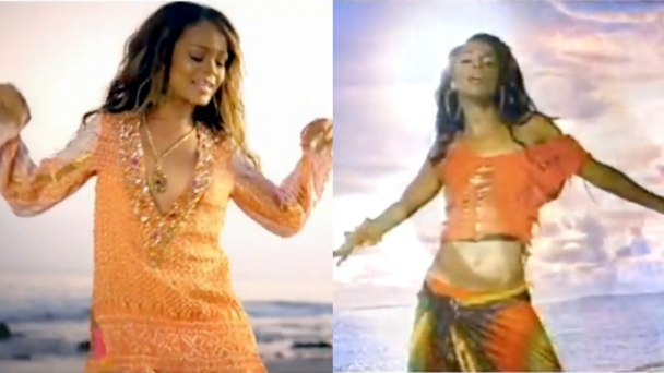 Aaliyah And Rihanna